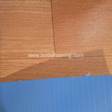 Matt Surface Wood color pvc roll flooring
